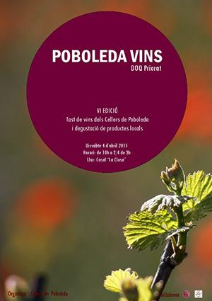 Cartel 6a edición Poboleda Vins