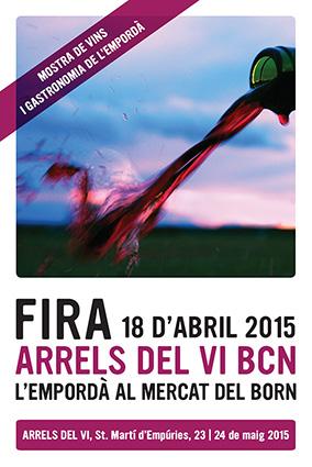 Cartel Arrels del Vi en Barcelona