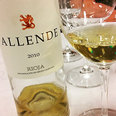 Allende Blanco 2010
