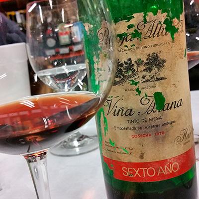 Rioja Alta Viña Arana Reserva Sexto Año 1970