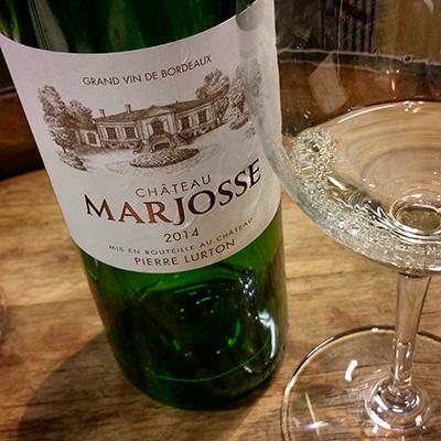 Château Marjosse Blanc 2014