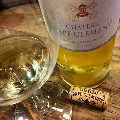 Château Pape Clément Blanc 2005