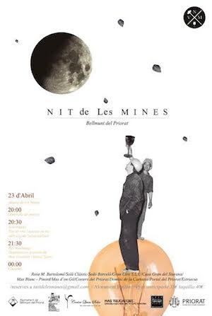 Cartel Nit de les Mines 2016
