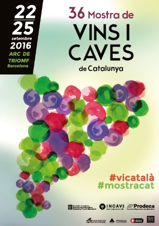 Cartell 36 Mostra Vins i Caves 2016