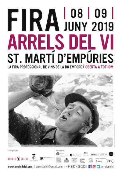 Cartell Arrels del Vi - Sant Martí d'Empúries