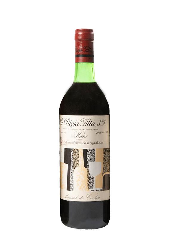 La Rioja Alta Club de Cosecheros Crianza 1978 by elvi.net