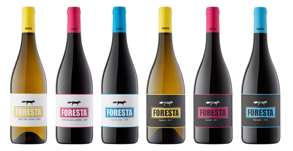 Vinos de Vins de Foresta by elvi.net