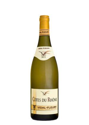 Vidal-Fleury Côtes du Rhône Blanc 2013 by elvi.net
