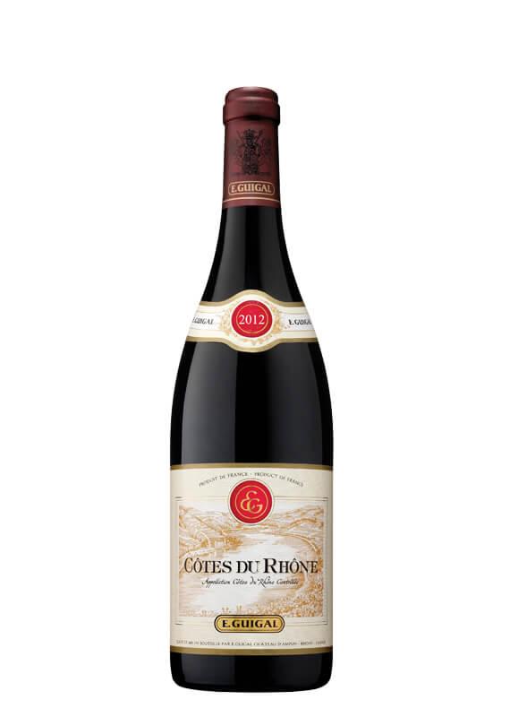 E. Guigal Côtes du Rhône 2012 by elvi.net
